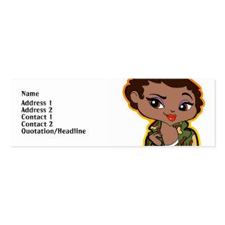 Sagittarius Profile Card Mini Business Card