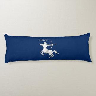 Sagittarius Silver Archer Zodiac Body Pillow