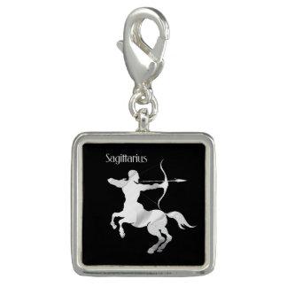 Sagittarius Silver Archer Zodiac Charms
