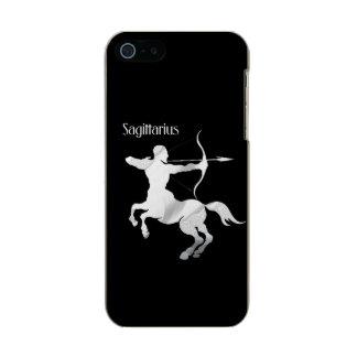Sagittarius Silver Archer Zodiac Incipio Feather® Shine iPhone 5 Case