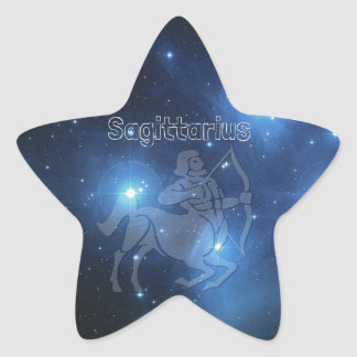 Sagittarius Star Sticker