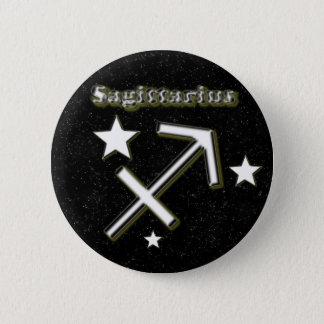 Sagittarius symbol 2 inch round button