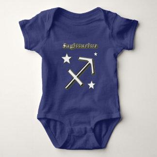 Sagittarius symbol baby bodysuit