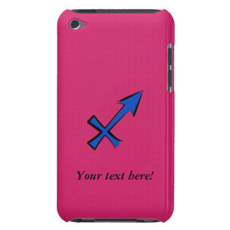Sagittarius symbol barely there iPod cases
