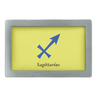 Sagittarius symbol belt buckles