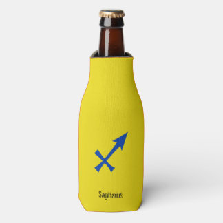 Sagittarius symbol bottle cooler