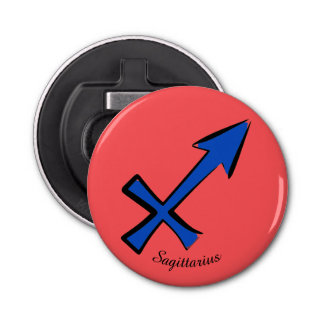 Sagittarius symbol bottle opener