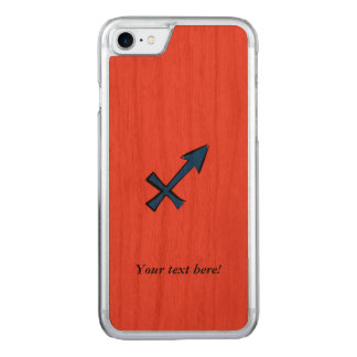Sagittarius symbol carved iPhone 8/7 case