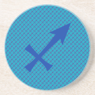Sagittarius symbol coaster