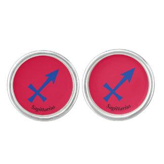 Sagittarius symbol cufflinks