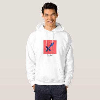 Sagittarius symbol hoodie