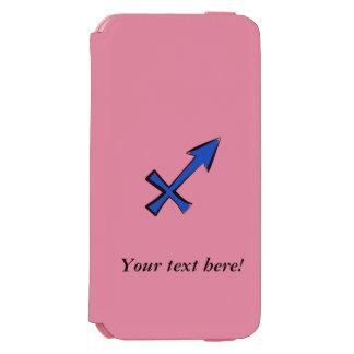 Sagittarius symbol incipio watson™ iPhone 6 wallet case