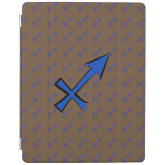 Sagittarius symbol iPad cover
