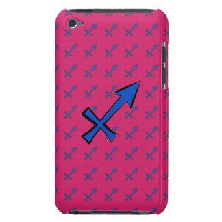 Sagittarius symbol iPod touch Case-Mate case