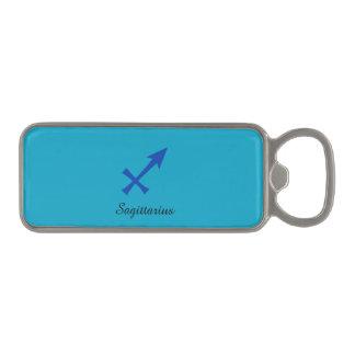 Sagittarius symbol magnetic bottle opener