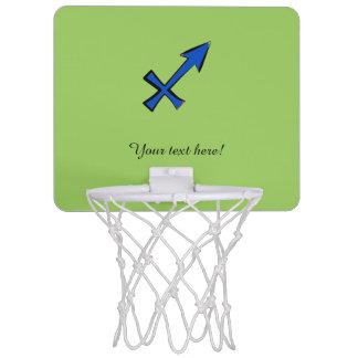 Sagittarius symbol mini basketball hoop