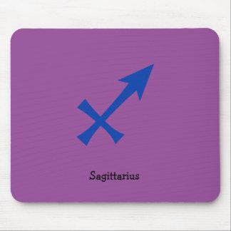 Sagittarius symbol mouse pad