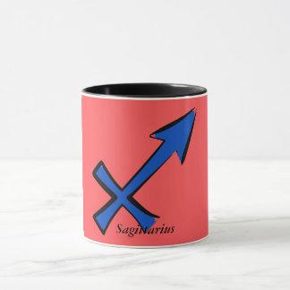 Sagittarius symbol mug