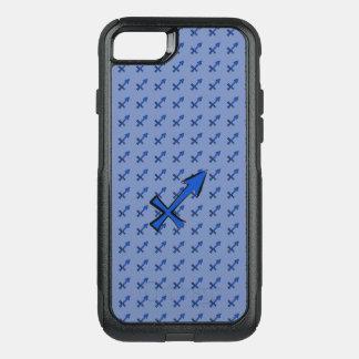 Sagittarius symbol OtterBox commuter iPhone 8/7 case