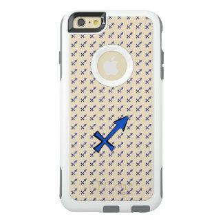 Sagittarius symbol OtterBox iPhone 6/6s plus case