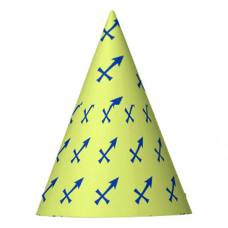 Sagittarius symbol party hat