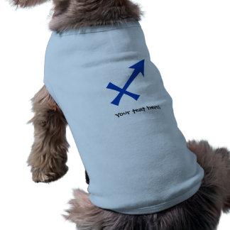 Sagittarius symbol pet clothing