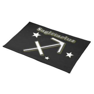 Sagittarius symbol placemat
