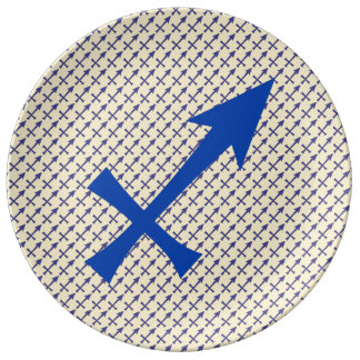 Sagittarius symbol plate