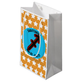 SAGITTARIUS SYMBOL SMALL GIFT BAG