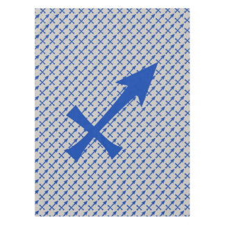 Sagittarius symbol tablecloth