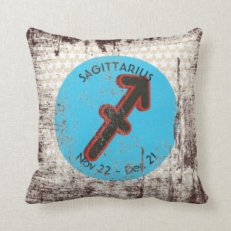 SAGITTARIUS SYMBOL THROW PILLOW