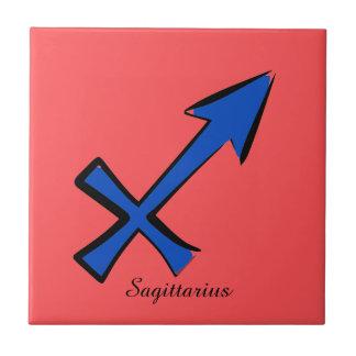 Sagittarius symbol tile