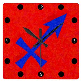 Sagittarius symbol wallclocks