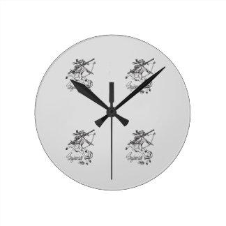 Sagittarius Wall Clock Sag Astrology
