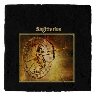 Sagittarius  Zodiac Astrology design Horoscope Trivet