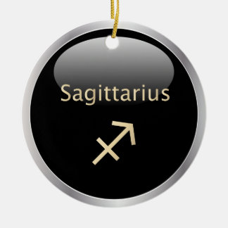 Sagittarius zodiac astrology star sign ornament