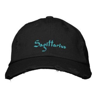 Sagittarius Zodiac Embroidered Cap / Hat