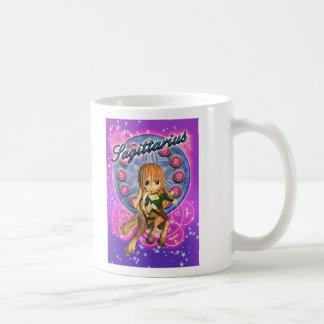 Sagittarius Zodiac Mug With Cute Female Centaur