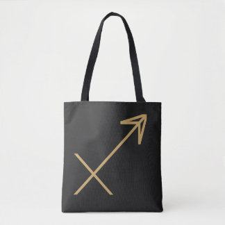 Sagittarius Zodiac Sign Basic Tote Bag
