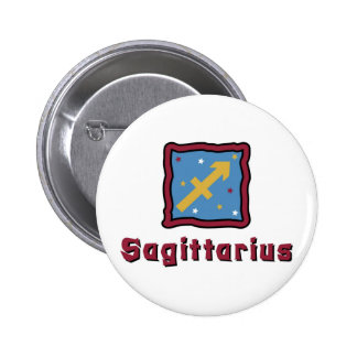 Sagittarius Zodiac Sign Pinback Buttons