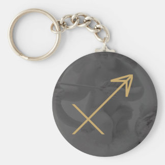 Sagittarius Zodiac Sign | Custom Background Keychain