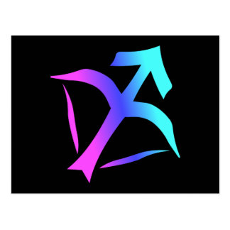 Sagittarius Zodiac Sign Postcard