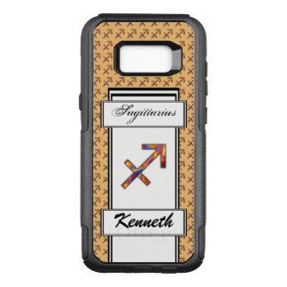 Sagittarius Zodiac Symbol Elmt by Kenneth Yoncich OtterBox Commuter Samsung Galaxy S8+ Case