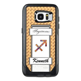 Sagittarius Zodiac Symbol Elmt by Kenneth Yoncich OtterBox Samsung Galaxy S7 Edge Case