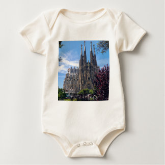 Sagrada Família Baby Bodysuit