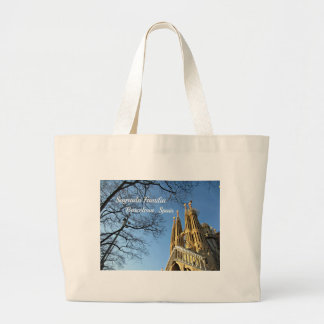 Sagrada Familia, Barcelona, Spain Large Tote Bag
