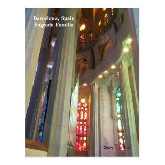 Sagrada Familia Barcelona Spain Postcard