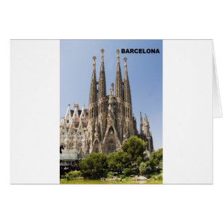 SAGRADA FAMILIA BARCELONA SPAIN (St.K) Card