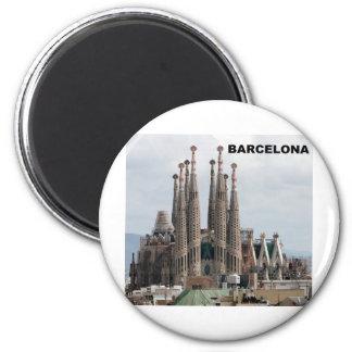 SAGRADA FAMILIA BARCELONA SPAIN (St.K) Magnet