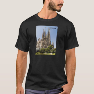 Sagrada Familia Barcelona Spain T-Shirt